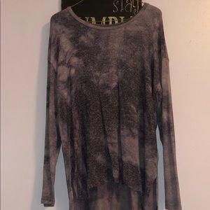 Purple american eagle long sleeve shirt